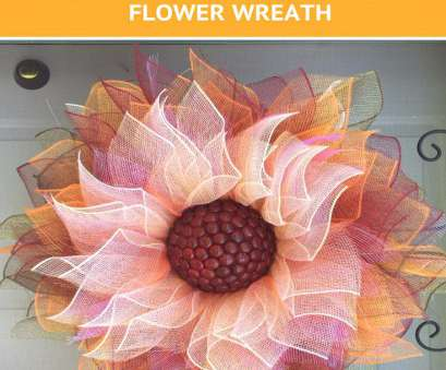 how to make a mesh wreath with wire frame How To Make A Flower Deco Mesh Wreath, Grillo Designs How To Make A Mesh Wreath With Wire Frame Creative How To Make A Flower Deco Mesh Wreath, Grillo Designs Images