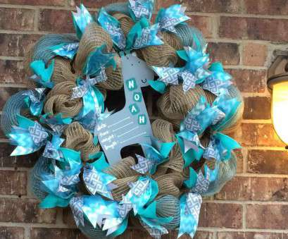 how to make wire mesh ribbon wreaths Baby, burlap deco mesh wreath giraffe gray blue turquoise ribbon chalk paint hospital door How To Make Wire Mesh Ribbon Wreaths Fantastic Baby, Burlap Deco Mesh Wreath Giraffe Gray Blue Turquoise Ribbon Chalk Paint Hospital Door Photos