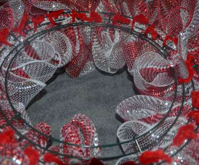 how to make wire mesh ribbon wreaths Deco Mesh Christmas Wreath Tutorial Donnahup, Contemporary Design How To Make Wire Mesh Ribbon Wreaths Popular Deco Mesh Christmas Wreath Tutorial Donnahup, Contemporary Design Pictures