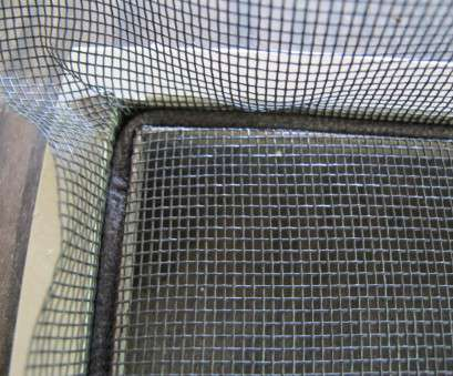 how to make wire mesh screen Attach, new screen to, frame using spline, a rolling in How To Make Wire Mesh Screen Top Attach, New Screen To, Frame Using Spline, A Rolling In Ideas
