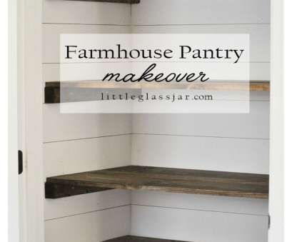how to reinforce wire closet shelving Super cute, Farmhouse Pantry Makeover, littleglassjar.com #shiplap #organization #pantry How To Reinforce Wire Closet Shelving Creative Super Cute, Farmhouse Pantry Makeover, Littleglassjar.Com #Shiplap #Organization #Pantry Collections