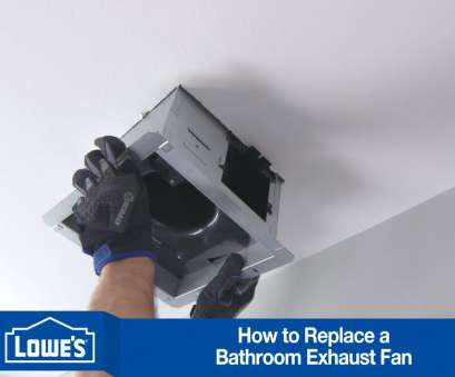 how to replace a bathroom ceiling fan/light How To Install a Bath Exhaust Fan How To Replace A Bathroom Ceiling Fan/Light Practical How To Install A Bath Exhaust Fan Ideas