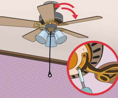 how to replace the ceiling fan with light 3 Ways to, a Wobbling Ceiling,, wikiHow How To Replace, Ceiling, With Light Cleaver 3 Ways To, A Wobbling Ceiling,, WikiHow Galleries