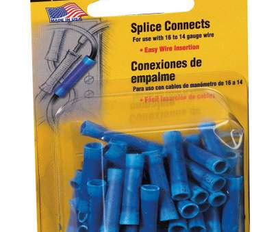 how to splice 24 gauge wire Amazon.com: 3M 3984 16 to 14-Gauge Wire Splice Electrical Connectors, Blue, 50, Pack: Home Improvement How To Splice 24 Gauge Wire Nice Amazon.Com: 3M 3984 16 To 14-Gauge Wire Splice Electrical Connectors, Blue, 50, Pack: Home Improvement Pictures