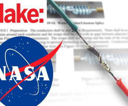 how to splice 24 gauge wire How To Splice Wires to NASA Standards How To Splice 24 Gauge Wire Simple How To Splice Wires To NASA Standards Solutions