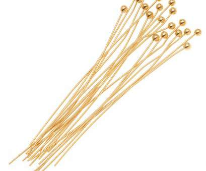 how to straighten 24 gauge wire 22K Gold Plated Ball Head Pins 24 Gauge 3 Inch (x20) How To Straighten 24 Gauge Wire Brilliant 22K Gold Plated Ball Head Pins 24 Gauge 3 Inch (X20) Photos