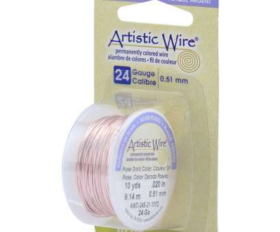 how to straighten 24 gauge wire Artistic Wire Permanent Colored Copper Wire 24 Gauge 10yds Rose Gold How To Straighten 24 Gauge Wire Top Artistic Wire Permanent Colored Copper Wire 24 Gauge 10Yds Rose Gold Photos