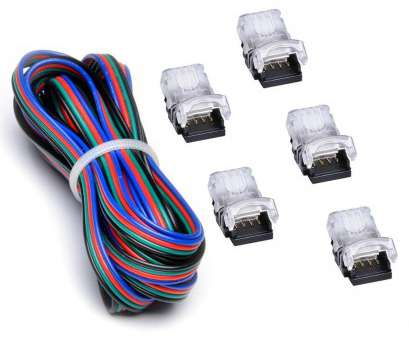 how to strip 22 gauge wire RGB, Strip Connector, 4, With Extension Wire UL Listed, Feet/3 Meter 22 Gauge 4 Conductor,, Strip to Power Lead or Strip to Strip Jumper How To Strip 22 Gauge Wire New RGB, Strip Connector, 4, With Extension Wire UL Listed, Feet/3 Meter 22 Gauge 4 Conductor,, Strip To Power Lead Or Strip To Strip Jumper Collections