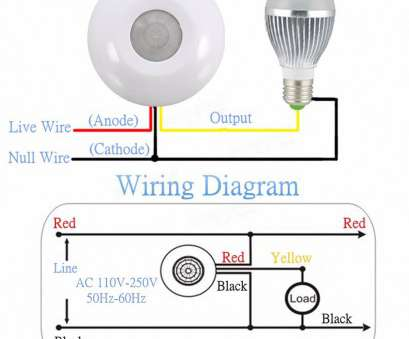 how to wire a 110v light switch Wiring Diagram Motion Sensor Light Switch, LoreStan.info 11 Most How To Wire A 110V Light Switch Photos