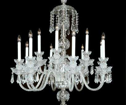 how to wire a 12 light chandelier ..., Palace Crystal Chandelier shown in Nickel finish. Note, clear wire in, arms How To Wire A 12 Light Chandelier Fantastic ..., Palace Crystal Chandelier Shown In Nickel Finish. Note, Clear Wire In, Arms Collections