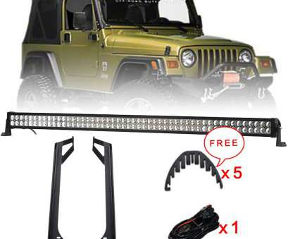 how to wire a 50 inch light bar Offroad 288W 50 Inch, Light, Combo Beam + Windshield Mounting Brackets, + Wire Harness, Jeep Wrangler YJ 1987 1995-in Light Bar/Work Light from How To Wire A 50 Inch Light Bar Best Offroad 288W 50 Inch, Light, Combo Beam + Windshield Mounting Brackets, + Wire Harness, Jeep Wrangler YJ 1987 1995-In Light Bar/Work Light From Collections