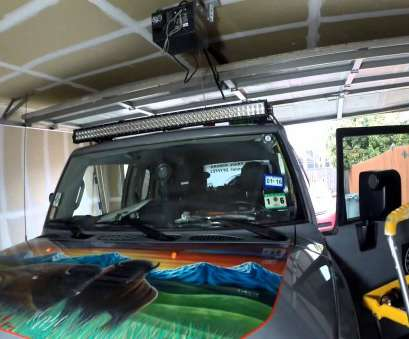 how to wire a 52 inch light bar FJ Cruiser 50 lightbar install Part 2 How To Wire A 52 Inch Light Bar Professional FJ Cruiser 50 Lightbar Install Part 2 Solutions