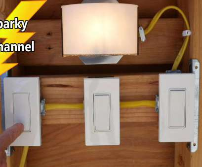 how to wire a double light switch youtube How To Wire a 4-way Switch How To Wire A Double Light Switch Youtube Top How To Wire A 4-Way Switch Pictures