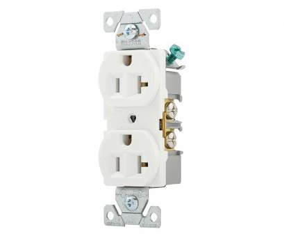 how to wire a duplex electrical outlet Shop Eaton 20-Amp 125-Volt Comm Recept 10-Count White Outlets at How To Wire A Duplex Electrical Outlet Cleaver Shop Eaton 20-Amp 125-Volt Comm Recept 10-Count White Outlets At Pictures