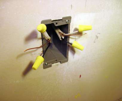 how to wire a new electrical outlet from an existing one How to Install a Drywall Electrical Box How To Wire A, Electrical Outlet From An Existing One Professional How To Install A Drywall Electrical Box Ideas