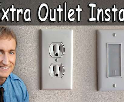 how to wire a new electrical outlet from an existing one How To Install An Extra Electrical Outlet, Outlet Night Light How To Wire A, Electrical Outlet From An Existing One Creative How To Install An Extra Electrical Outlet, Outlet Night Light Solutions