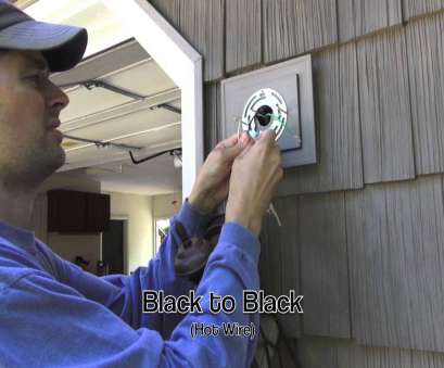 how to wire a external light Exterior Light Installation on Vinyl Siding Block How To Wire A External Light Professional Exterior Light Installation On Vinyl Siding Block Photos