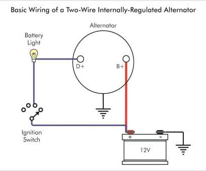 how to wire a external light Typical Wiring Diagram Alternator, External Voltage Regulator Troubleshooting An Warning Light, Club Of If How To Wire A External Light New Typical Wiring Diagram Alternator, External Voltage Regulator Troubleshooting An Warning Light, Club Of If Ideas