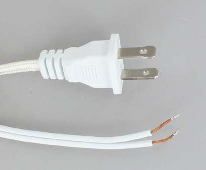 how to wire a fluorescent light to an extension cord 10ft. White Rayon Braided 18/2 SPT-1 Cordset with Molded Polarized Plug, 2ft. Exposed Wire How To Wire A Fluorescent Light To An Extension Cord Nice 10Ft. White Rayon Braided 18/2 SPT-1 Cordset With Molded Polarized Plug, 2Ft. Exposed Wire Images