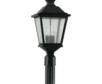 how to wire a granite light post Black, Post Lighting, Outdoor Lighting -, Home Depot How To Wire A Granite Light Post Most Black, Post Lighting, Outdoor Lighting -, Home Depot Solutions