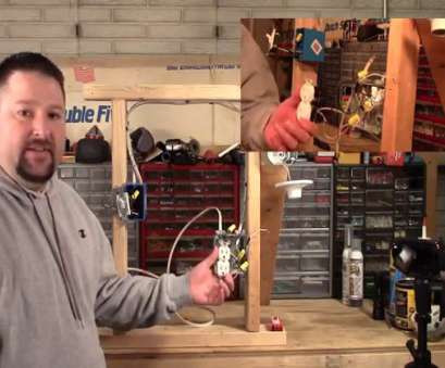 how to wire a half switched outlet video How to wire a switched outlet/with close, of wiring How To Wire A Half Switched Outlet Video Fantastic How To Wire A Switched Outlet/With Close, Of Wiring Ideas