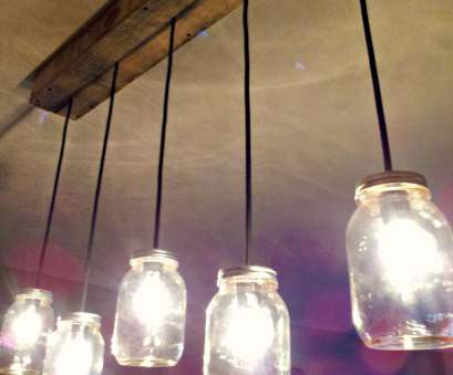 How To Wire A Hanging Light Fixture Brilliant Mason, & Rustic Pallet Light Fixture, On BinkysNest.Com Pictures