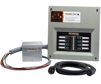 how to wire a home generator transfer switch Generac Upgradeable Manual Transfer Switch, for 8 Circuits How To Wire A Home Generator Transfer Switch Practical Generac Upgradeable Manual Transfer Switch, For 8 Circuits Solutions