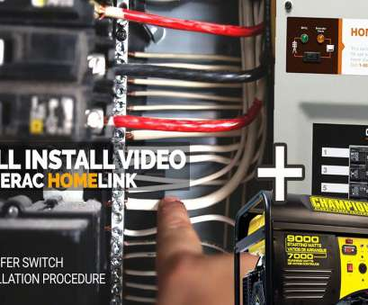 how to wire a home generator transfer switch How I Installed, Generac Generator Transfer Switch, Full Install, Home Link How To Wire A Home Generator Transfer Switch Professional How I Installed, Generac Generator Transfer Switch, Full Install, Home Link Pictures