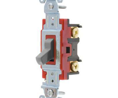 how to wire a hubbell 3 way switch Shop Hubbell 15/20-amp 3-way Gray Toggle Indoor Light Switch at How To Wire A Hubbell 3, Switch Nice Shop Hubbell 15/20-Amp 3-Way Gray Toggle Indoor Light Switch At Images
