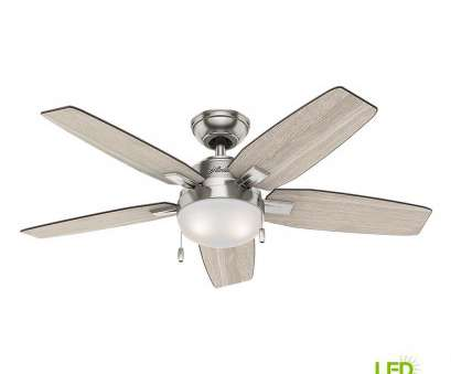 how to wire a hunter ceiling fan with light Hunter Antero 46, LED Indoor Brushed Nickel Ceiling, with Light How To Wire A Hunter Ceiling, With Light Best Hunter Antero 46, LED Indoor Brushed Nickel Ceiling, With Light Galleries
