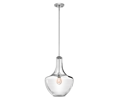 how to wire a kichler light Kichler Everly 1 Light Chrome (42046CH), Pendant Lighting How To Wire A Kichler Light Best Kichler Everly 1 Light Chrome (42046CH), Pendant Lighting Pictures
