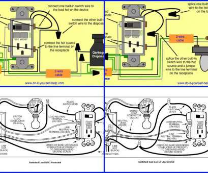 How To Wire A Light, An Outlet Brilliant How To Wire A Gfci Outlet With, Switches In, Box Switch Diagram, Be Pictures