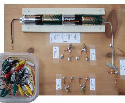 How To Wire A Light Board Simple Experiments To Do With, Battery & Lights (Bat-Light) Board That Solutions