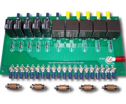 How To Wire A Light Board Popular Race, Relay Board With High Power Circuits Rh Nitrousdaves, Car Writing, Wiring, Lighting Board Photos