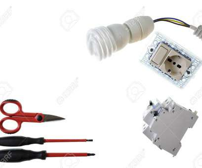 How To Wire A Light Bulb Holder Practical Scissors, Screwdrivers, Switch, Socket, Lamp Holder, Light Bulb, Differential Switch Photos