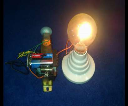 how to wire a light bulb to a 9v battery Made Free Energy Generator Homemade 9V Battery, Transformer Output 220V How To Wire A Light Bulb To A 9V Battery Nice Made Free Energy Generator Homemade 9V Battery, Transformer Output 220V Photos