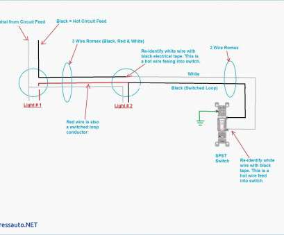 how to wire a new light circuit Lighting 2, Switching Wiring Diagram, fonar.me How To Wire A, Light Circuit Most Lighting 2, Switching Wiring Diagram, Fonar.Me Collections