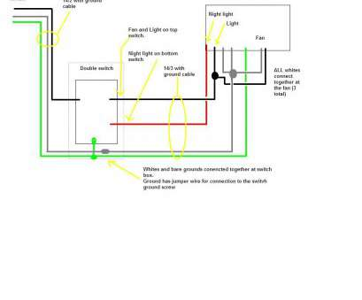 how to wire a fan light combo Bathroom, Light Combo Wiring Diagram, Wiring Diagram Image 15 Fantastic How To Wire A, Light Combo Images
