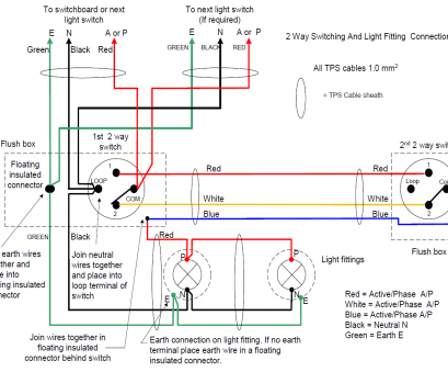 how to wire a light fitting 2 wires Wiring, Way Light Switch Diagram Chocaraze Inside, fonar.me 16 Most How To Wire A Light Fitting 2 Wires Collections