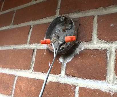 How To Wire A Light Fixture Youtube Simple How To Remove, Disconnect An Exterior Light Fixture Galleries