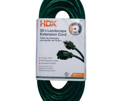 how to wire a light into an extension cord HDX 50, 16/3 Indoor/Outdoor Landscape Extension Cord, Green How To Wire A Light Into An Extension Cord Creative HDX 50, 16/3 Indoor/Outdoor Landscape Extension Cord, Green Pictures
