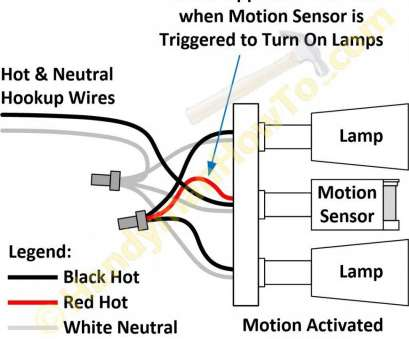 how to wire a light and light switch Wiring Diagram Motion Sensor Light Switch, techrush.me How To Wire A Light, Light Switch Fantastic Wiring Diagram Motion Sensor Light Switch, Techrush.Me Pictures