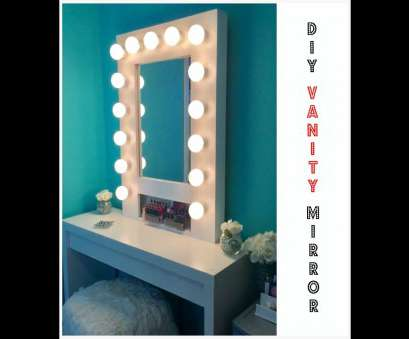 how to wire a light mirror HOW, Build your, Hollywood Vanity Mirror W/Lights EASY, AFFORDABLE, YouTube How To Wire A Light Mirror Practical HOW, Build Your, Hollywood Vanity Mirror W/Lights EASY, AFFORDABLE, YouTube Pictures