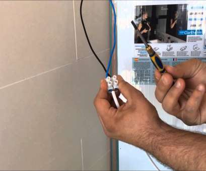how to wire a light mirror Installation demister systems Clartherm to, point light How To Wire A Light Mirror Most Installation Demister Systems Clartherm To, Point Light Ideas
