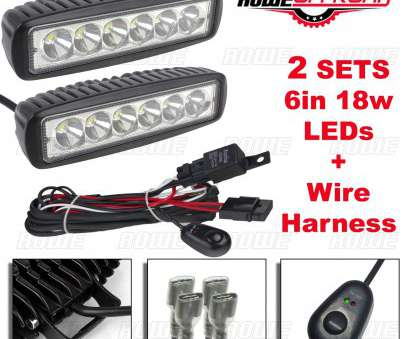 how to wire a light bar on a atv 2pcs, 18W, Work Light, Fog Offroad + Wire Harness, ATV, (FLOOD) How To Wire A Light, On A Atv Perfect 2Pcs, 18W, Work Light, Fog Offroad + Wire Harness, ATV, (FLOOD) Galleries