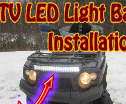 how to wire a light bar on a atv DIY, to Mount a Mictuning, LED Light, on a Kawasaki Brute Force, Light, Install, YouTube How To Wire A Light, On A Atv Top DIY, To Mount A Mictuning, LED Light, On A Kawasaki Brute Force, Light, Install, YouTube Solutions
