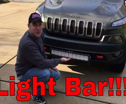 how to wire a light bar on a jeep cherokee Auxbeam, LED Light, Install!!!, 2015 Jeep Cherokee Trailhawk, YouTube How To Wire A Light, On A Jeep Cherokee Creative Auxbeam, LED Light, Install!!!, 2015 Jeep Cherokee Trailhawk, YouTube Photos