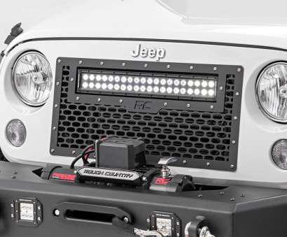 how to wire a light bar on a jeep jk Mesh Replacement Grille with 20in, Light, for 2007-2017 Jeep Wrangler, Rough Country Suspension Systems® How To Wire A Light, On A Jeep Jk Nice Mesh Replacement Grille With 20In, Light, For 2007-2017 Jeep Wrangler, Rough Country Suspension Systems® Solutions