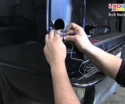 how to wire a light bar on a truck LEDGlow,, To Install an LEDGlow Tailgate Light, with Reverse Lights, Trucks, YouTube How To Wire A Light, On A Truck New LEDGlow,, To Install An LEDGlow Tailgate Light, With Reverse Lights, Trucks, YouTube Collections