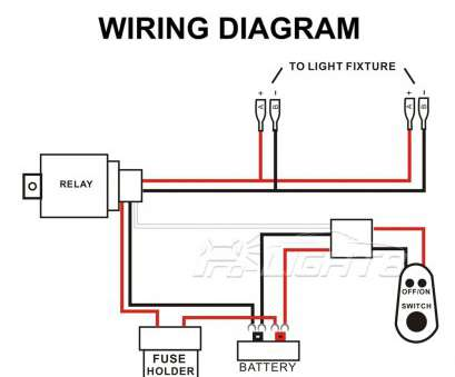 How To Wire A Light, On A Truck Cleaver Atv Light, Wire ... Wiring Diagram Of Ke Light on